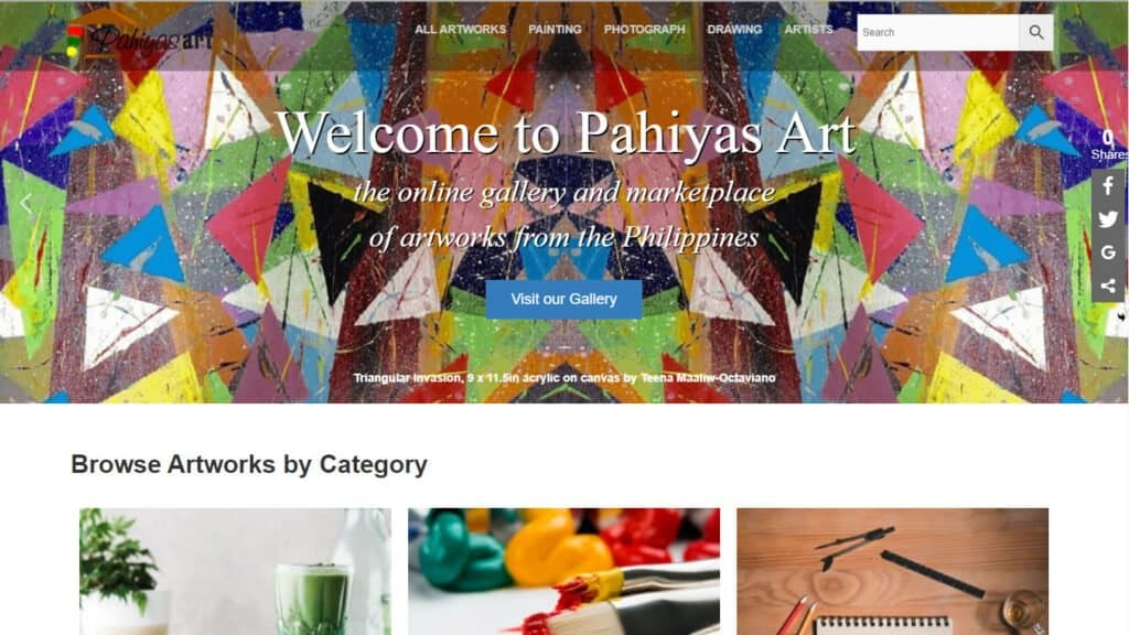 Pahiyas Art - online marketplace of Philippine art - https://pahiyasart.com